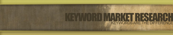 Keyword Market Research