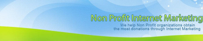 Non Profit Internet Marketing